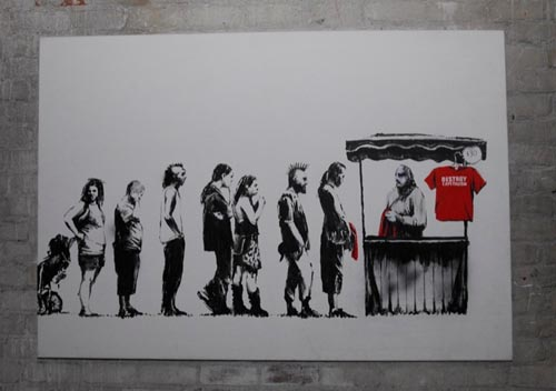 Banksy Canvas Festival