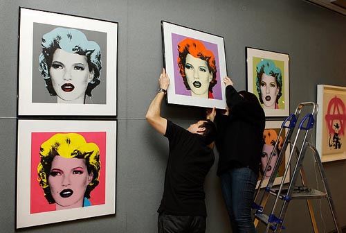 Banksy Prints Kate Moss