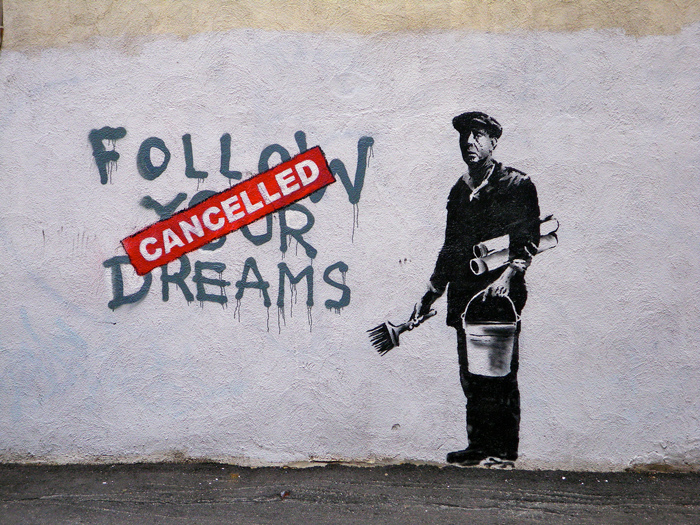new boston banksy street art. Black Bedroom Furniture Sets. Home Design Ideas